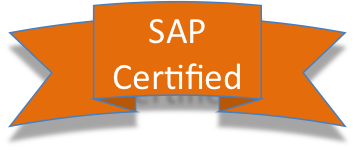 Look for the SAP Certified Badge
