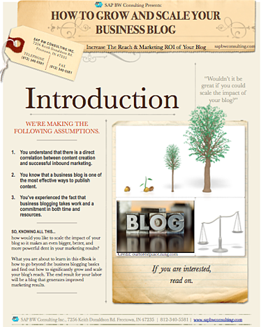 How to grow and scale a business blog