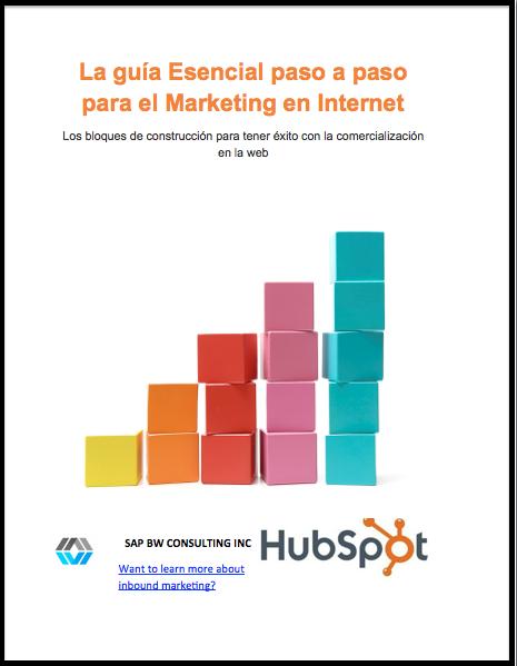 La guía Esencial paso a paso para el Marketing en Internet
